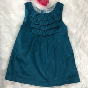 Isabel Garreton Ruffle Bib Dress